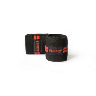 Grizzly Red Line Wrist Wraps