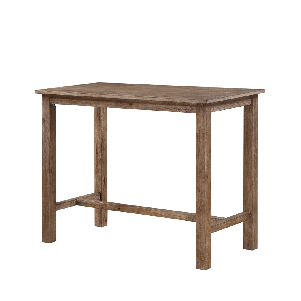 Details About Dining Table Weathered Wood Base Rectangle Shape Contemporary  Home Furniture New