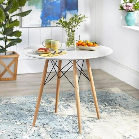 Simple Living Elba Mid-Century Dining Table - N/A