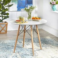 Simple Living Elba Mid-Century Dining Table