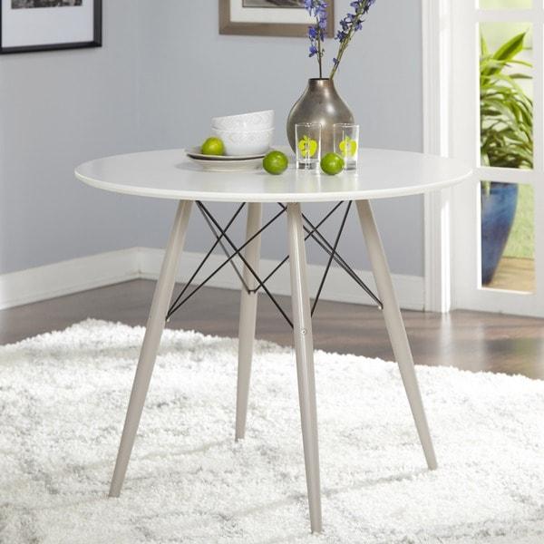 Simple Living Elba Mid Century Dining Table