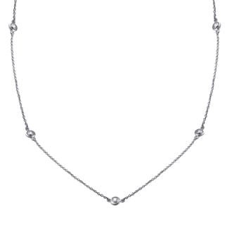 14k Gold 1 3ct TDW Diamonds 22 Inch Necklace White