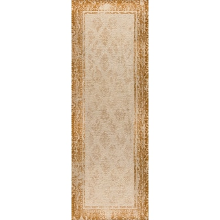 "M.A.Trading Hand-woven Corona Rust (2'6""x8')"