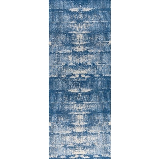 "M.A.Trading Hand-woven Jackson Blue (2'6""x8')"
