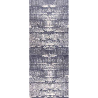 "M.A.Trading Hand-woven Jackson Grey (2'6""x8')"