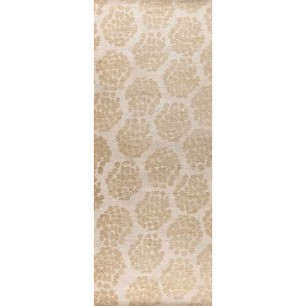 """M.A.Trading Hand-woven Midland Beige (2'6""""x8') - 2'6 x 8'"""