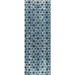 "M.A.Trading Hand-woven Modesto Blue (2'6""x8')"