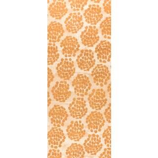 """M.A.Trading Hand-woven Midland Beige/Orange (2'6""""x8')"""
