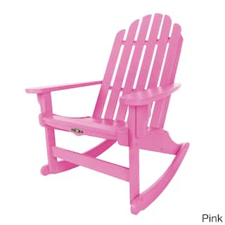 Pink Garden Furniture Pink patio furniture outdoor seating dining for less overstock pawleys island essential adirondack rocker option pink workwithnaturefo