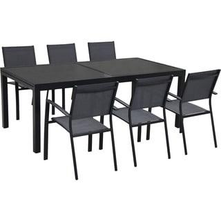 Hanover Naples 7-Piece Outdoor Dining Set