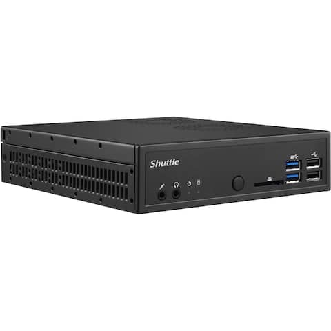 Shuttle XPC slim DH110SE Barebone System Slim PC - Socket H4 LGA-1151