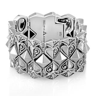 Stephen Webster Sterling Silver Aces Bracelet