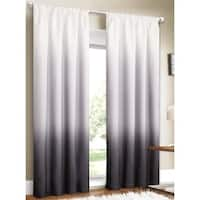Silver Orchid Bard Shades Ombre Curtain Panel Pair - 80 x 84