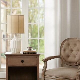 Madison Park Signature Floret Ivory Table Lamp