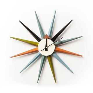Handmade George Nelson Inspired Clock (Vietnam)