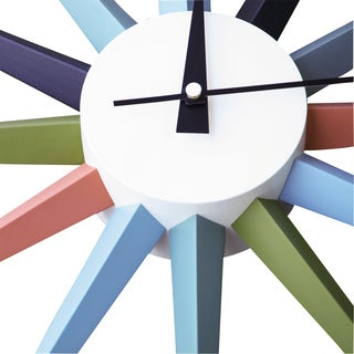 George Nelson Inspired Sunburst Clock (China)