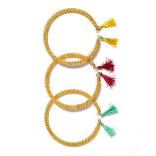Woven Wire Bracelets (Set of 3)