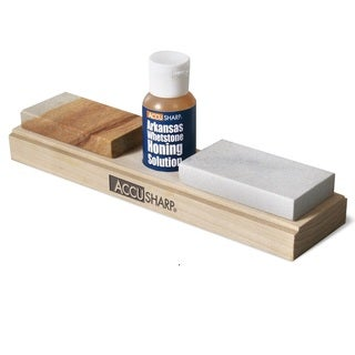 AccuSharp Arkansas Whetstone Combo Knife-sharpening Kit