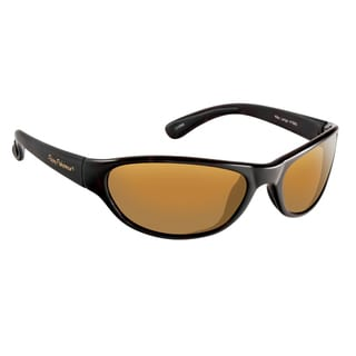 Fly Fish Key Largo Matte Black/Amber Sunglasses