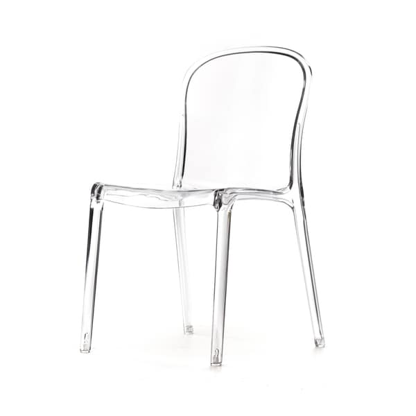 polycarbonate furniture. Genoa Polycarbonate Dining Chair Furniture