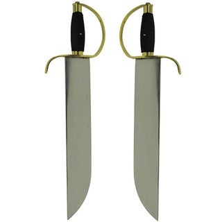 Black Cold Steel 15-inch Blade Butterfly Swords