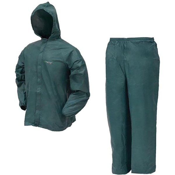 Ultra Lite2 Polypropylene Waterproof Hooded X-large Rain Suit