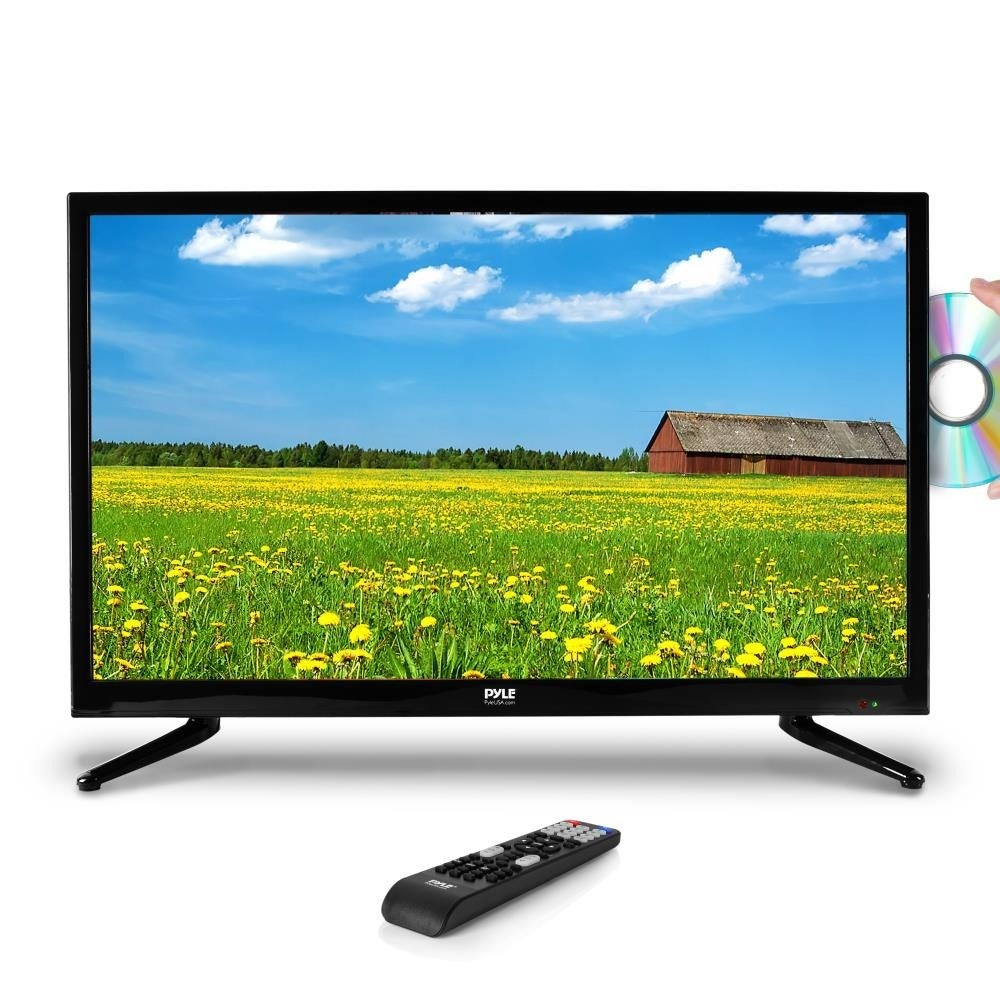 Pyle PTVDLED40 HD 40-inch Built-in CD/DVD Player LED Flat...