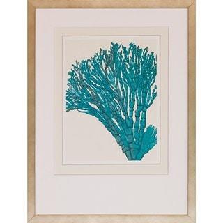 FabFunky 'Blue Underwater Scenes' Framed Giclee Print Wall Art