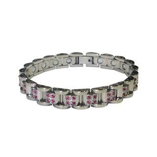 Magnetic Stainless Steel Butterfly Bracelet