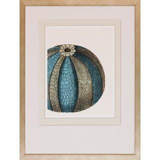 Art Virtuoso 'Blue Underwater Scenes' Framed Art Print