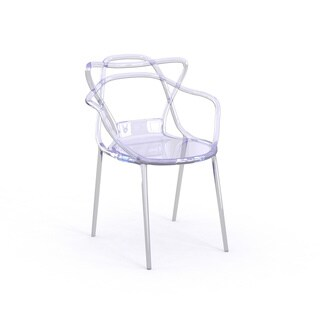 Nesting Series Transparent Stacking Dining Chair