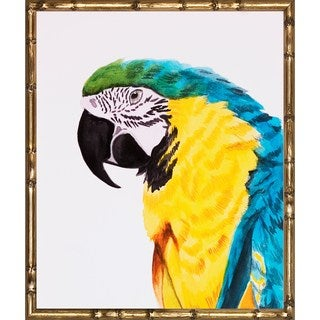 Watercolor Birds' Framed Art Print
