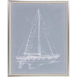 Ethan Harper 'Yacht Sketches' Framed Art Print