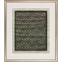 'Optical Illusion' Antique Silver Finish Framed Art Print