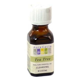 Aura Cacia 0.5-ounce Tea Tree Essential Oil