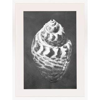 Art Virtuoso 'Slate Shell Impressions' Framed Art Print