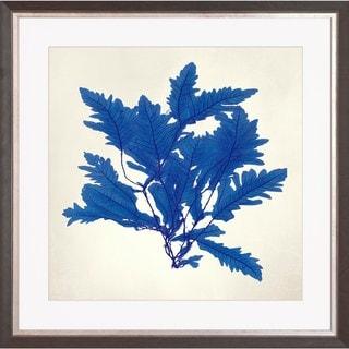 Sea Tangle Multicolored Wood Framed Art Print