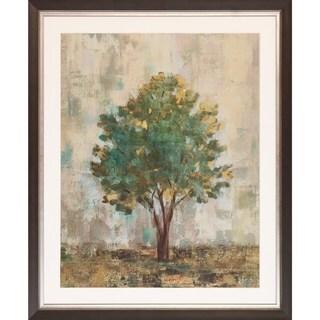 Silvia Vassileva 'Verdi Trees' Framed Art Print