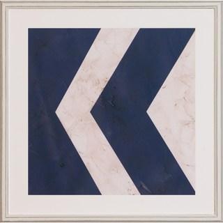 Art Virtuoso 'Seaside Signal Flags' Framed Art Print