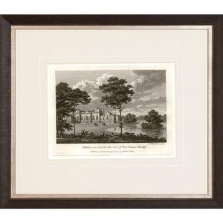 Watt's Views in Sepia' Framed Art Print