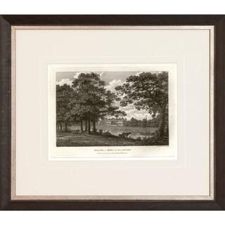 'Watt's Views' Sepia Framed Art Print