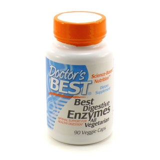 Doctor's Best Digestive Enzymes 90-count Vegetarian Capsules