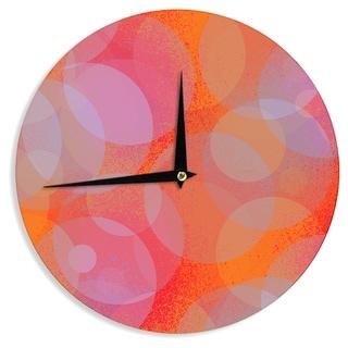 KESS InHouse Marianna Tankelevich 'Six' Wall Clock