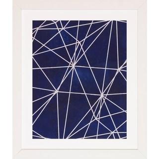 Art Virtuoso Indigo Pattern Framed Art Print