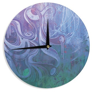 KESS InHouse Mat Miller 'Electric Dreams II' Wall Clock