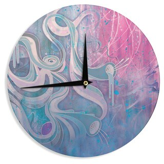 KESS InHouse Mat Miller 'Electric Dreams' Wall Clock
