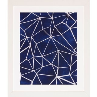 Grace Popp 'Indigo Pattern' Framed Art Print