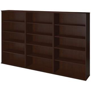 Series C Elite Mocha Cherry finish Bookcase