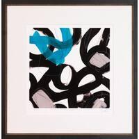 Chromatic Impulse Framed Art Print
