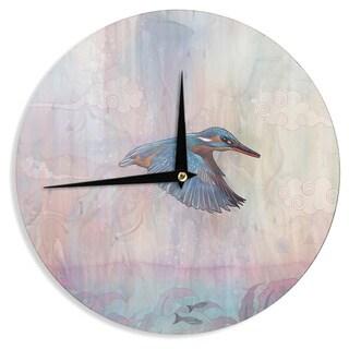KESS InHouse Mat Miller 'Terror from Above' Wall Clock